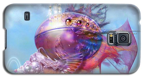 Cosmic Fish Spaceship Galaxy S5 Case by Alexa Szlavics