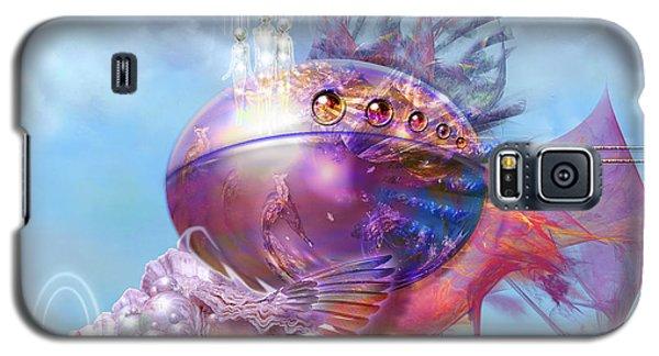Cosmic Fish Spaceship Galaxy S5 Case