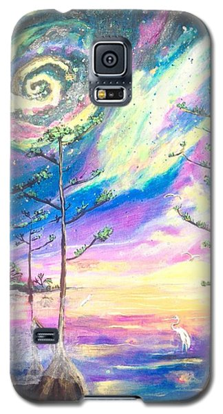 Galaxy S5 Case featuring the painting Cosmic Florida by Dawn Harrell
