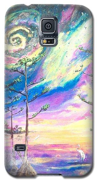 Cosmic Florida Galaxy S5 Case