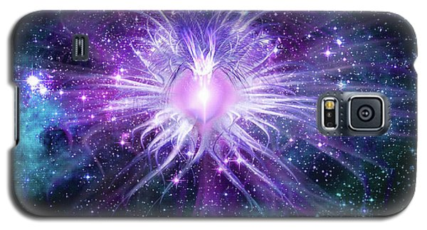 Cosmic Heart Of The Universe Mosaic Galaxy S5 Case