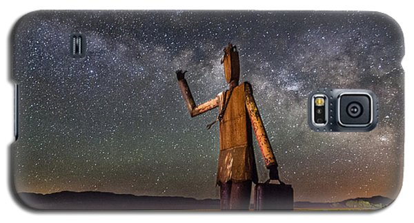 Cosmic Hitchhiker Galaxy S5 Case