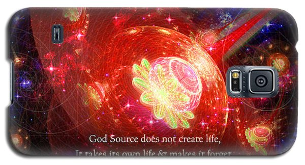 Cosmic Inspiration God Source 2 Galaxy S5 Case