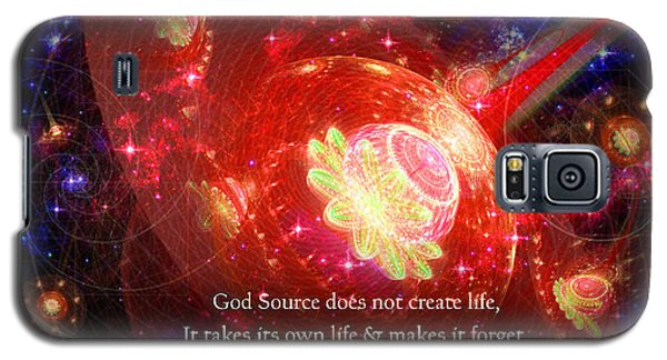 Cosmic Inspiration God Source 2 Galaxy S5 Case