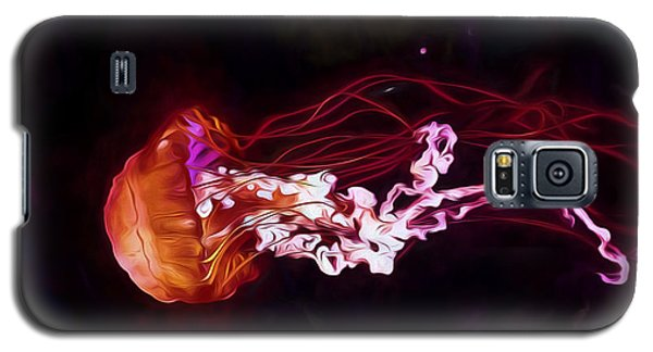 Cosmic Jellyfish Galaxy S5 Case