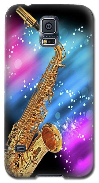 Cosmic Sax Galaxy S5 Case