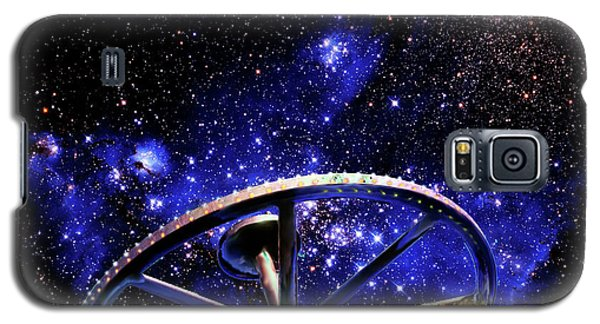 Galaxy S5 Case featuring the photograph Cosmic Wheel by Jim and Emily Bush