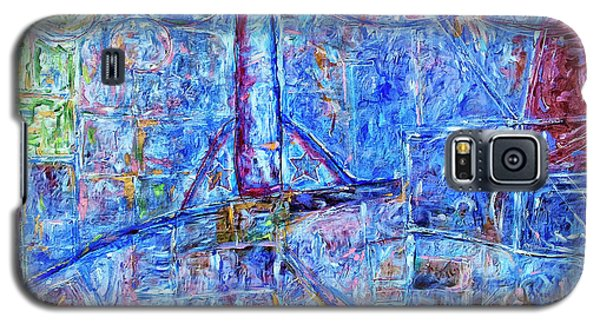 Galaxy S5 Case featuring the painting Cosmodrome by Dominic Piperata