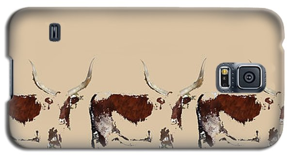 Galaxy S5 Case featuring the tapestry - textile Cosmopolitan Watusi by Amanda Smith