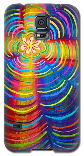 Cross Radiating Seven-fold Promise Of Hope Galaxy S5 Case
