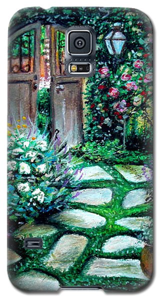 Cottage Gates Galaxy S5 Case