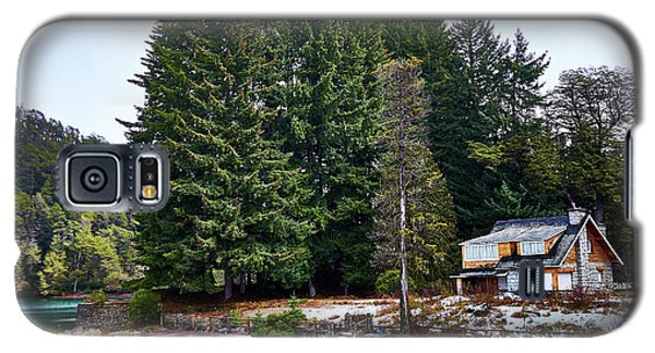 Little Cottage And Pines In The Argentine Patagonia Galaxy S5 Case