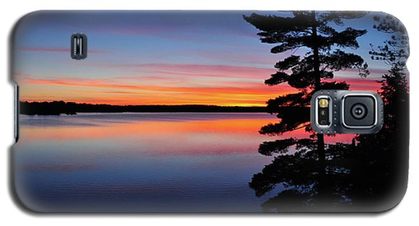Cottage Sunset Galaxy S5 Case