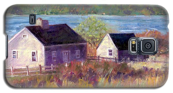 Cottages By The Bay Galaxy S5 Case