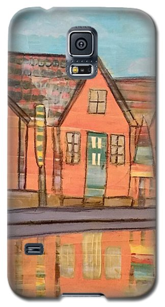 Cottages By The Beach Galaxy S5 Case