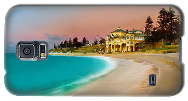Featured Images Galaxy S5 Case - Cottesloe Beach Sunset by Az Jackson