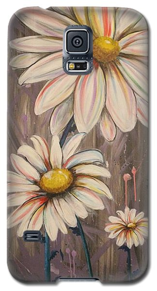 Cotton Candy Daisies Galaxy S5 Case