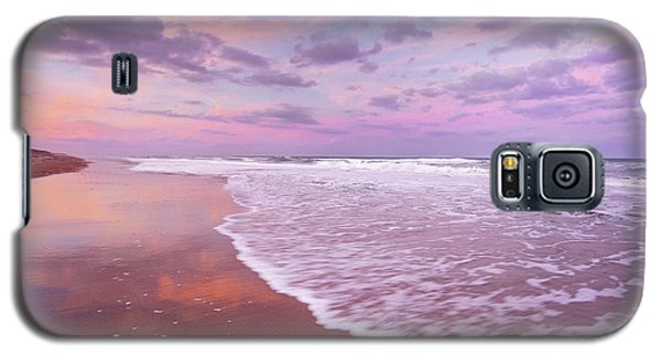 Galaxy S5 Case featuring the photograph Cotton Candy Sunset. by Evelyn Garcia
