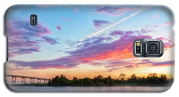 Cotton Candy Sunset Galaxy S5 Case