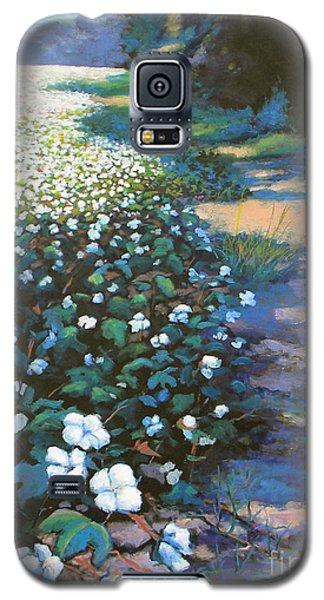 Cotton Field Galaxy S5 Case