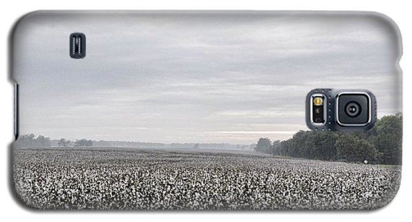 Galaxy S5 Case featuring the photograph Cotton Under The Mist by Jan Amiss Photography