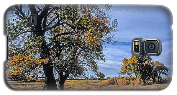 Cottonwood #5 Fall Ranch Colorado Blue Sky Galaxy S5 Case