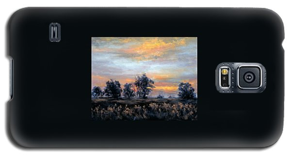 Cottonwoods At Sunset Galaxy S5 Case