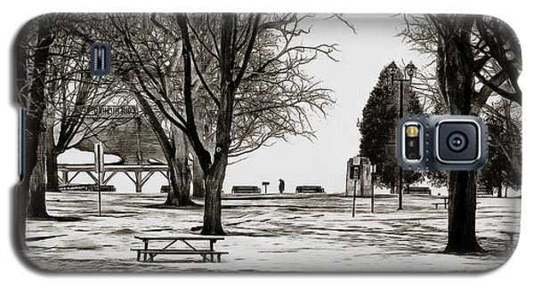 Couchiching Park In Pencil Galaxy S5 Case