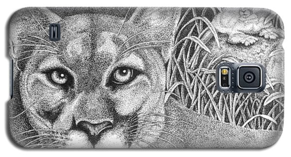 Cougar Galaxy S5 Case by Lawrence Tripoli