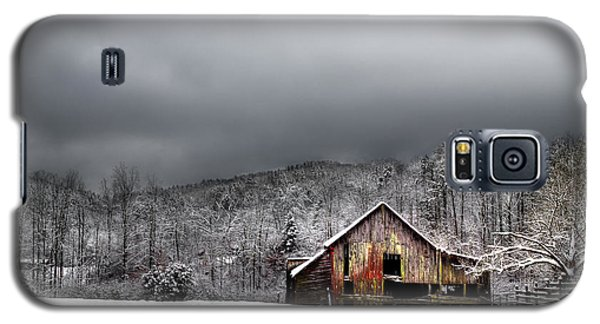 Country Barn In The Smokies Galaxy S5 Case