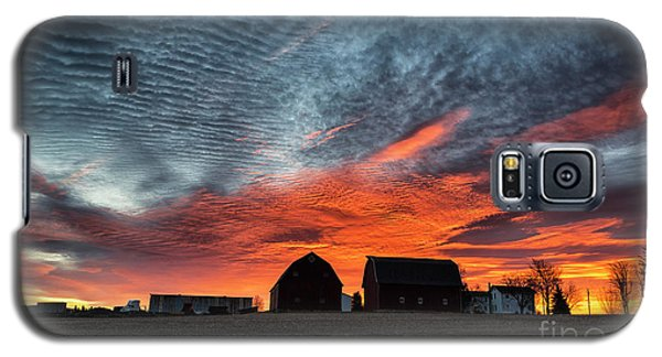 Country Barns Sunrise Galaxy S5 Case