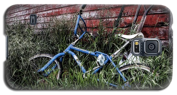 Galaxy S5 Case featuring the photograph Country Bicycle by Brad Allen Fine Art