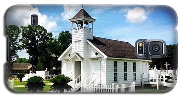 Religious Galaxy S5 Case - Country Chapel #love #church #louisiana by Scott Pellegrin