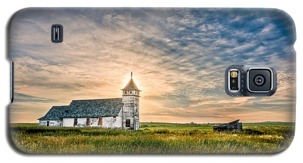 Country Church Sunrise Galaxy S5 Case
