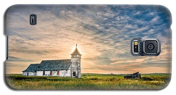 Country Church Sunrise Galaxy S5 Case