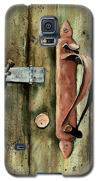 Country Door Lock Galaxy S5 Case