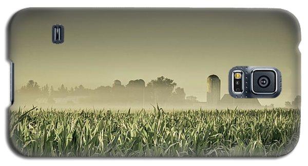 Country Farm Landscape Galaxy S5 Case