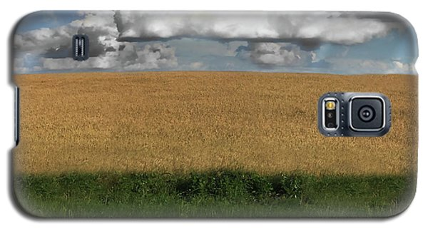 Galaxy S5 Case featuring the photograph Country Field by Brian Jones