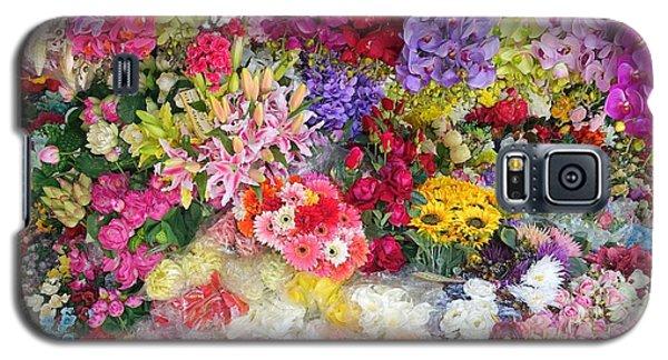 Country Flower Garden Colourful Design Galaxy S5 Case