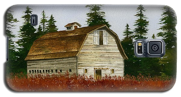 Galaxy S5 Case featuring the painting Country Landscape by James Williamson