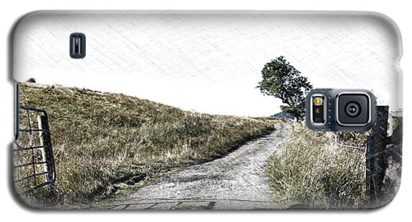 Galaxy S5 Case featuring the photograph Country Lane by RKAB Works