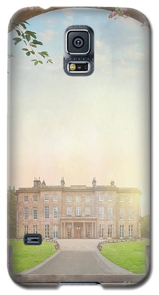 Country Mansion At Sunset Galaxy S5 Case by Lee Avison