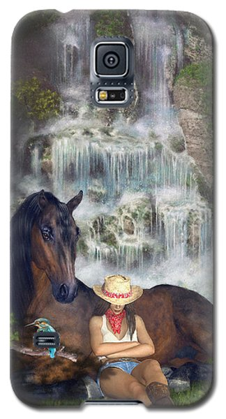 Country Memories 1 Galaxy S5 Case