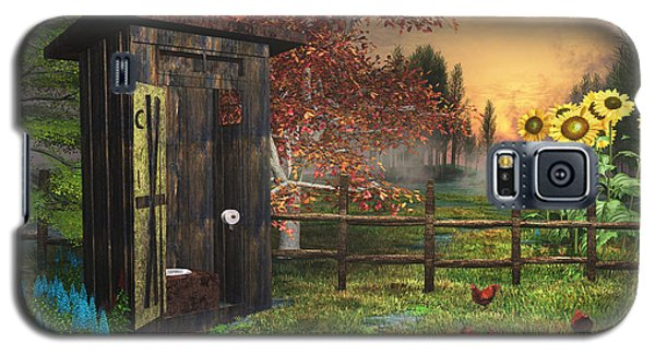 Country Outhouse Galaxy S5 Case by Mary Almond