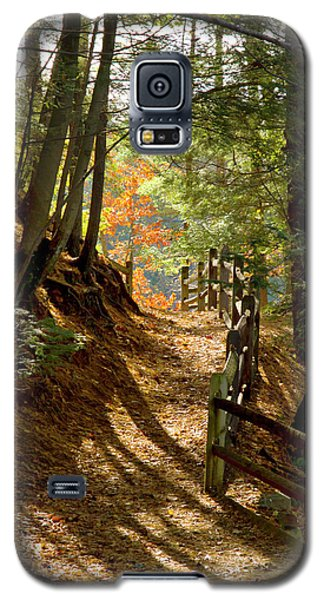 Galaxy S5 Case featuring the photograph Country Path by Arthur Dodd