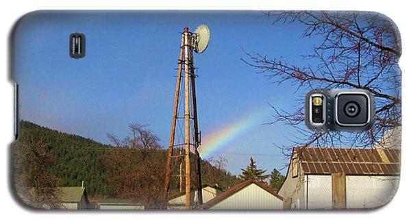Country Rainbow Galaxy S5 Case by Mary Ellen Frazee