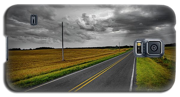 Country Road Galaxy S5 Case by Brian Jones