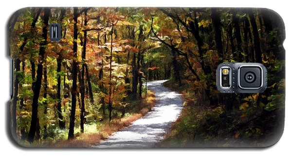 Country Road Galaxy S5 Case by David Dehner