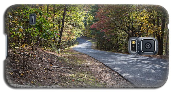 Country Road In Autumn Galaxy S5 Case