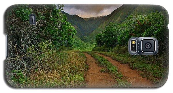 Country Road Kalaupapa, Molokai Galaxy S5 Case